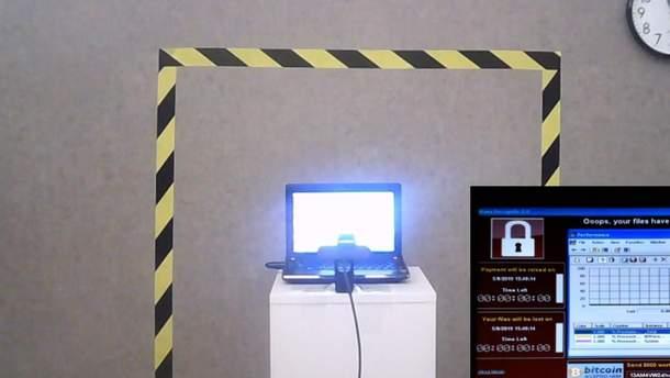 Ноутбук із найнебезпечнішими у світі вірусами