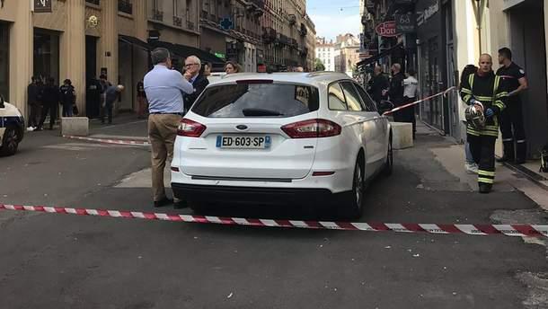 В Ліоні стався вибух, є поранені