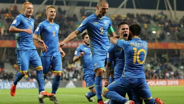 Сборная Украины победила США в первом матче чемпионата мира U-20
