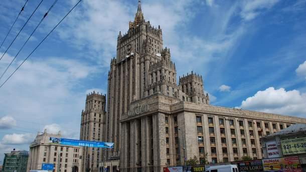 В російському МЗС відповіли на рішення Міжнародного трибуналу ООН по українських моряках