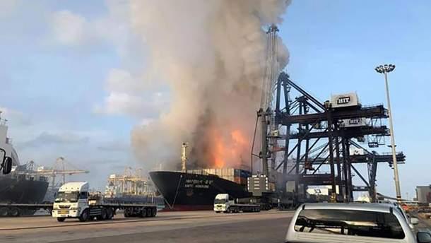 В Таиланде в порту произошел взрыв: много пострадавших