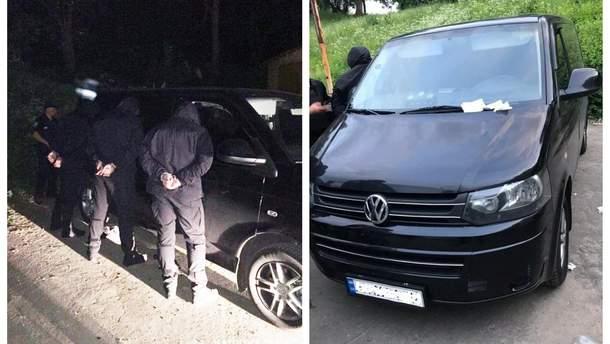 Полиция задержала похитителей предпринимателя в Киеве на их авто
