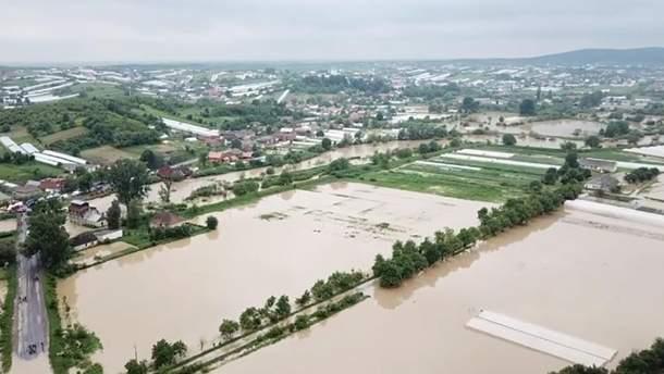 На Западной Украине возможно подтопление из-за подъема воды в реках