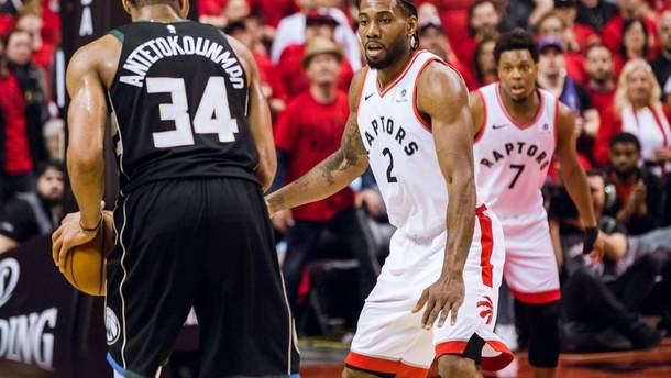 """""""Торонто"""" в невероятном матче победили """"Милуоки"""" и вышли в финал плей-офф НБА: видео"""