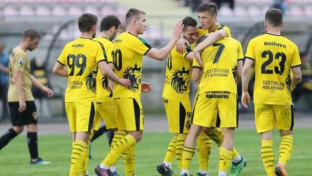 Команда Первой лиги забила 10 голов в ворота соперников: видео