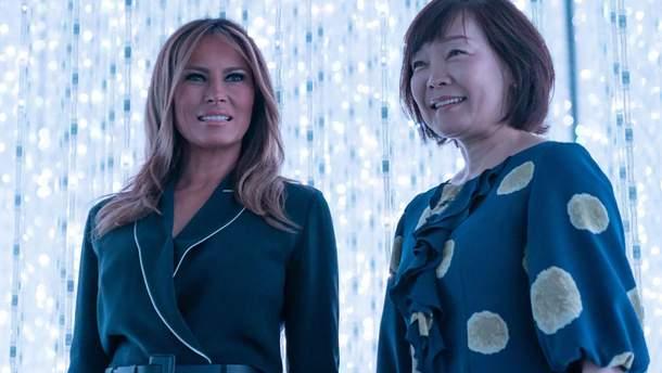 Мелания Трамп в Японии