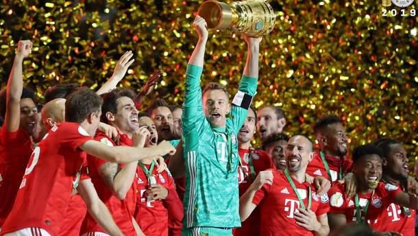 """""""Баварія"""" виграла Кубок Німеччини"""