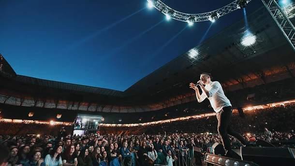 """""""Антитела"""" дали концерт во Львове: как зажгли музыканты"""