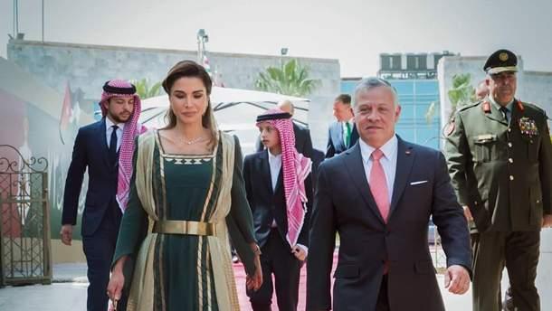 Королева Иордании на День независимости