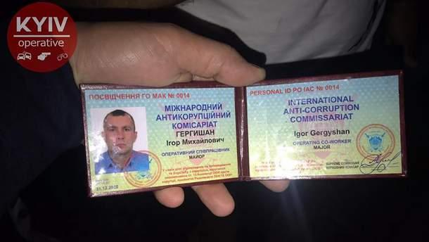 В Киеве так называемый майор наехал на ребенка