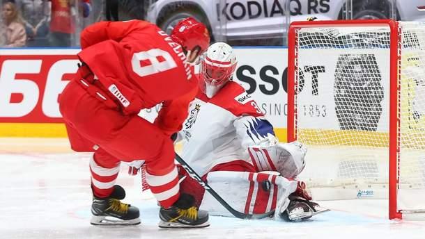 Россия победила Чехию в матче за 3 место на ЧМ по хоккею