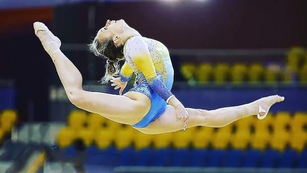 Українська гімнастка виборола золоту нагороду на Кубку світового виклику