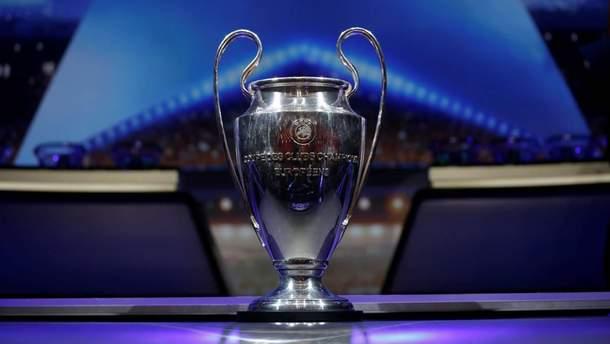 За главный трофей Лиги чемпионов будут бороться 32 команды в групповом этапе