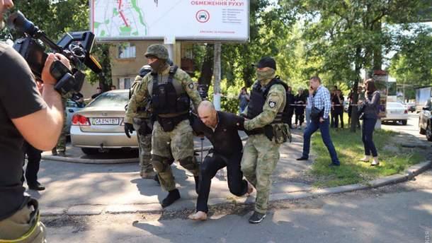 Бунт в колонии Одессы