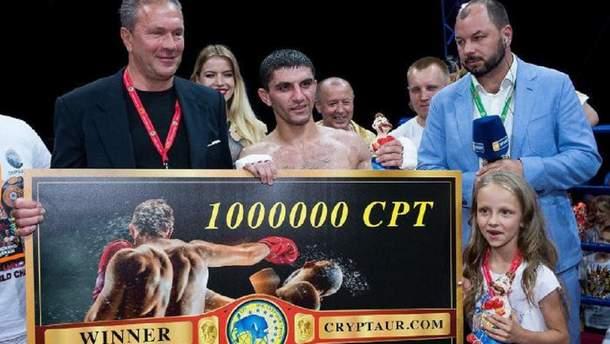 Артем Далакян отримає гонорар у криптовалюті