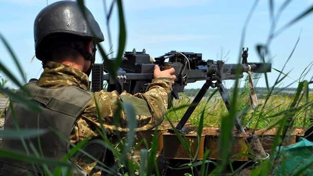 Українські військові поранили чотирьох окупантів на Донбасі