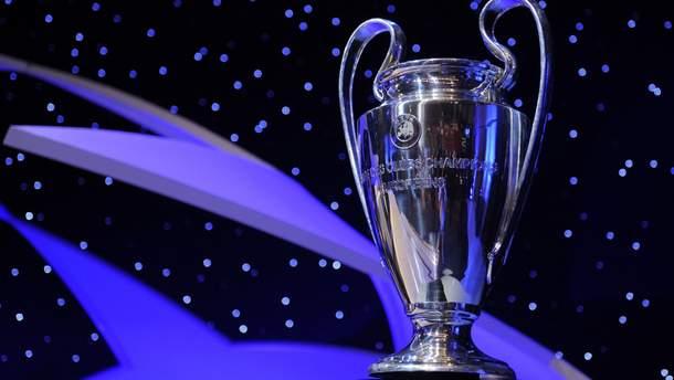 В Одессе похитили копию кубка Лиги чемпионов