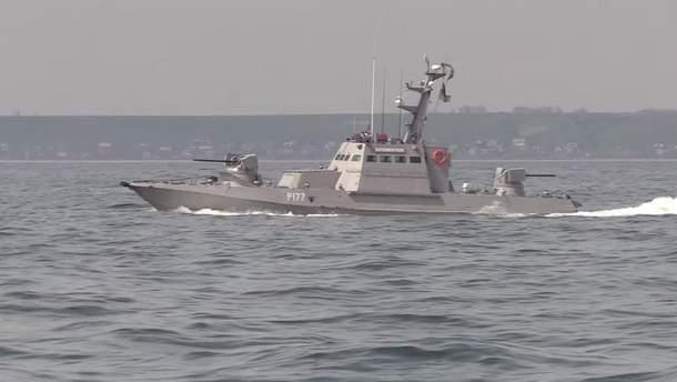 Военные моряки ВСУ провели боевые учения в Азовском море