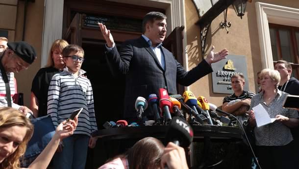 Саакашвили вернули гражданство Украины - когда он возвращается