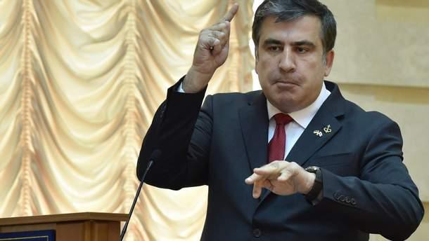 Саакашвілі розповів, що робитиме в Україні після повернення