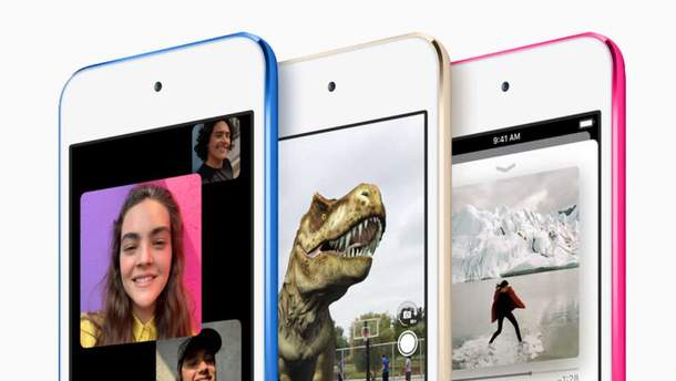 Apple нарешті оновила  плеєр iPod Touch