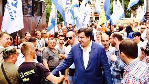 """Саквалеридзе заявил, что партия Саакашвили """"Движение новых сил"""" будет участвовать в выборах в парламент"""