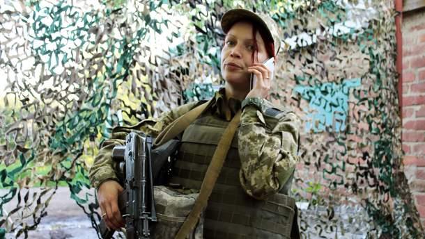 """Старший солдат Юлія """"Білка"""""""