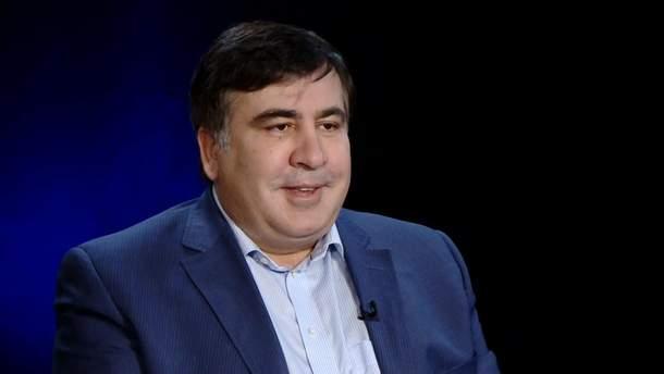 Міхеїл Саакашвілі повернувся в Україну