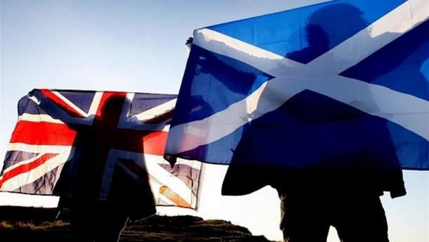 Шотландия является частью Великобритании
