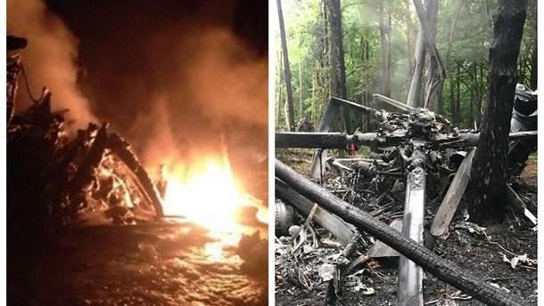 Причины катастрофы военного вертолета Ми-8 в Ровненской области