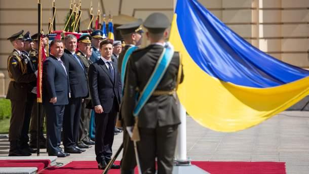Владимир Зеленский и руководители украинского силового сектора