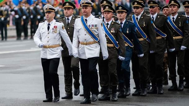 В Украине реформируют воинские звания