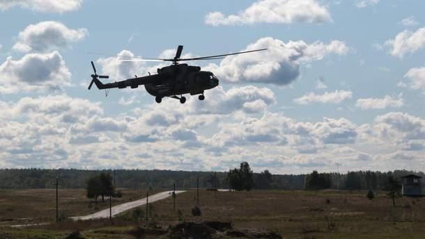 На Ровненщине запретили полеты после катастрофы вертолета Ми-8