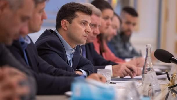 Президент України зустрівся з очільниками МЗС Німеччини й Франції