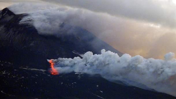 На Сицилії сталося виверження вулкану Етна