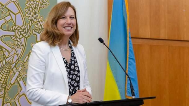 Замість Йованович до України прислали нову представницю США