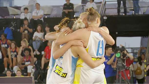 Сборная Украины по баскетболу 3х3 проиграли в Женской серии в Китае