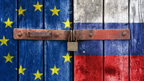 Россия ввела новые санкции против ЕС