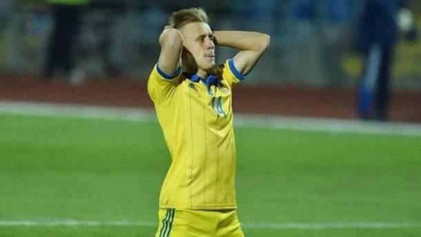 Иван Петряк не сыграет за сборную Украины