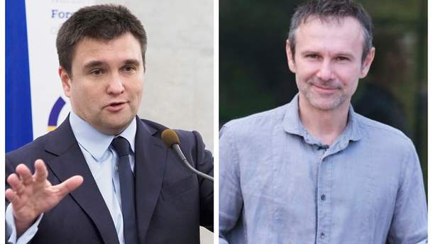 """Климкин говорил о присоединении к партии """"Голос"""" с ее лидером Вакарчуком"""