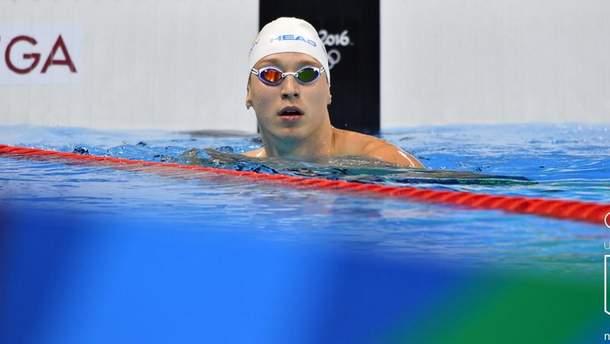 Український плавець Андрій Говоров виборов бронзу на етапі Ліги чемпіонів FINA