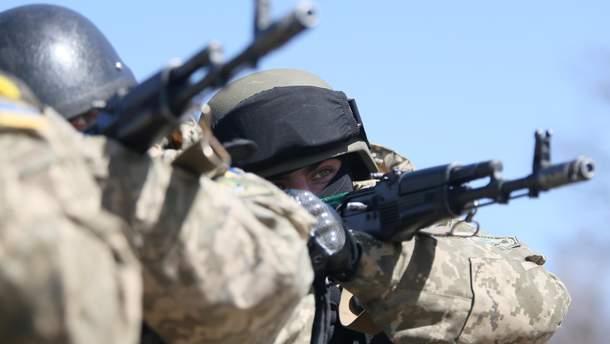 За сутки боевики обстреляли украинских воинов 5 раз