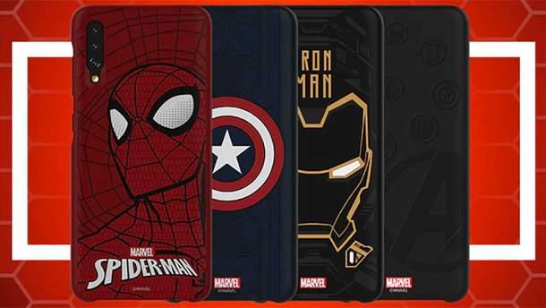 Samsung создала чехлы с изображениями супергероев Marvel