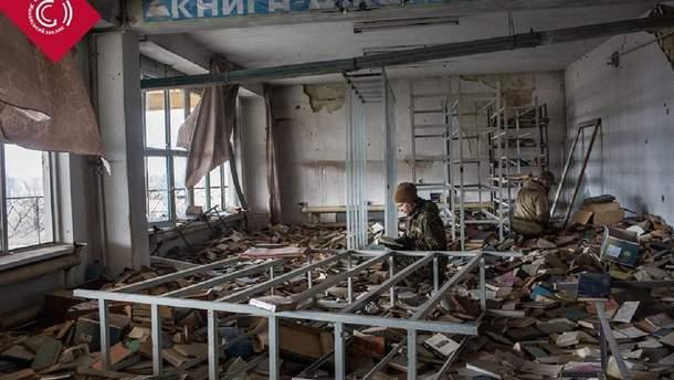 На Донбасі постраждали багато шкіл