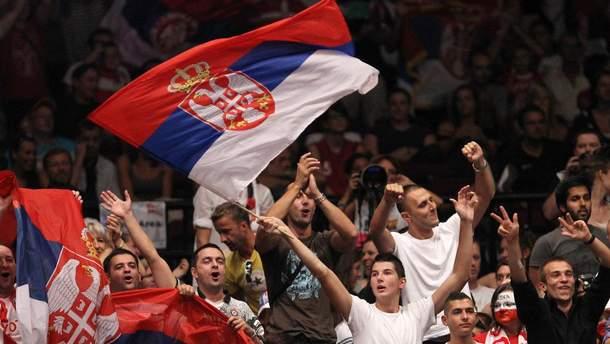 Фанати збірної Сербії