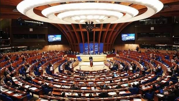 В ПАСЕ приняли проект резолюции, который ведет к возвращению России
