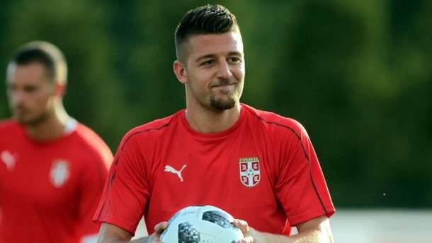 Сергей Милинкович-Савич не сыграет против Украины