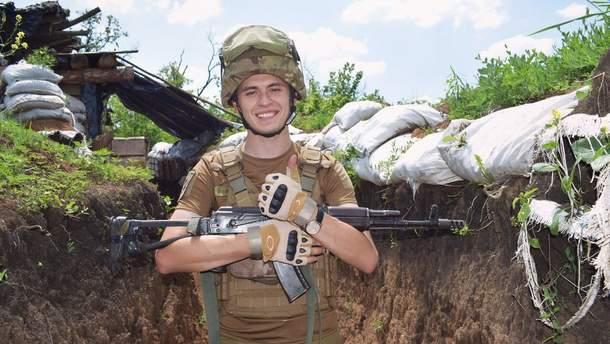 """Лейтенант Володимир Сисоєв із позивним """"Фред"""""""