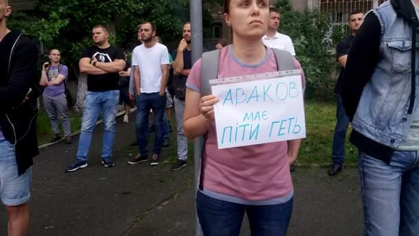 В городах Украины проходят акции из-за убийства 5-летнего мальчика