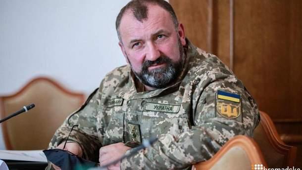 Заступник Полторака йде з військової служби